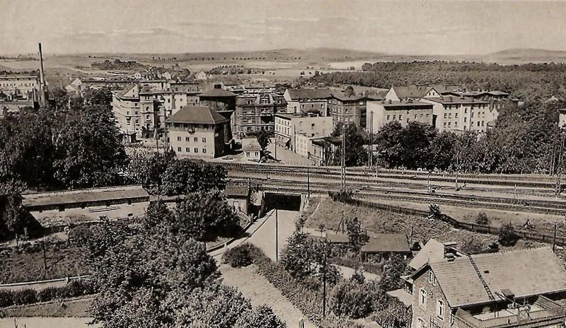Ulica Westerplatte i okolice
