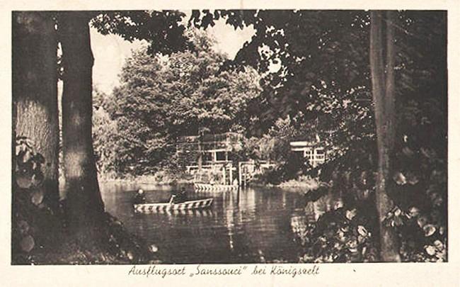 Sanssouci – dawne miejsce wypoczynku
