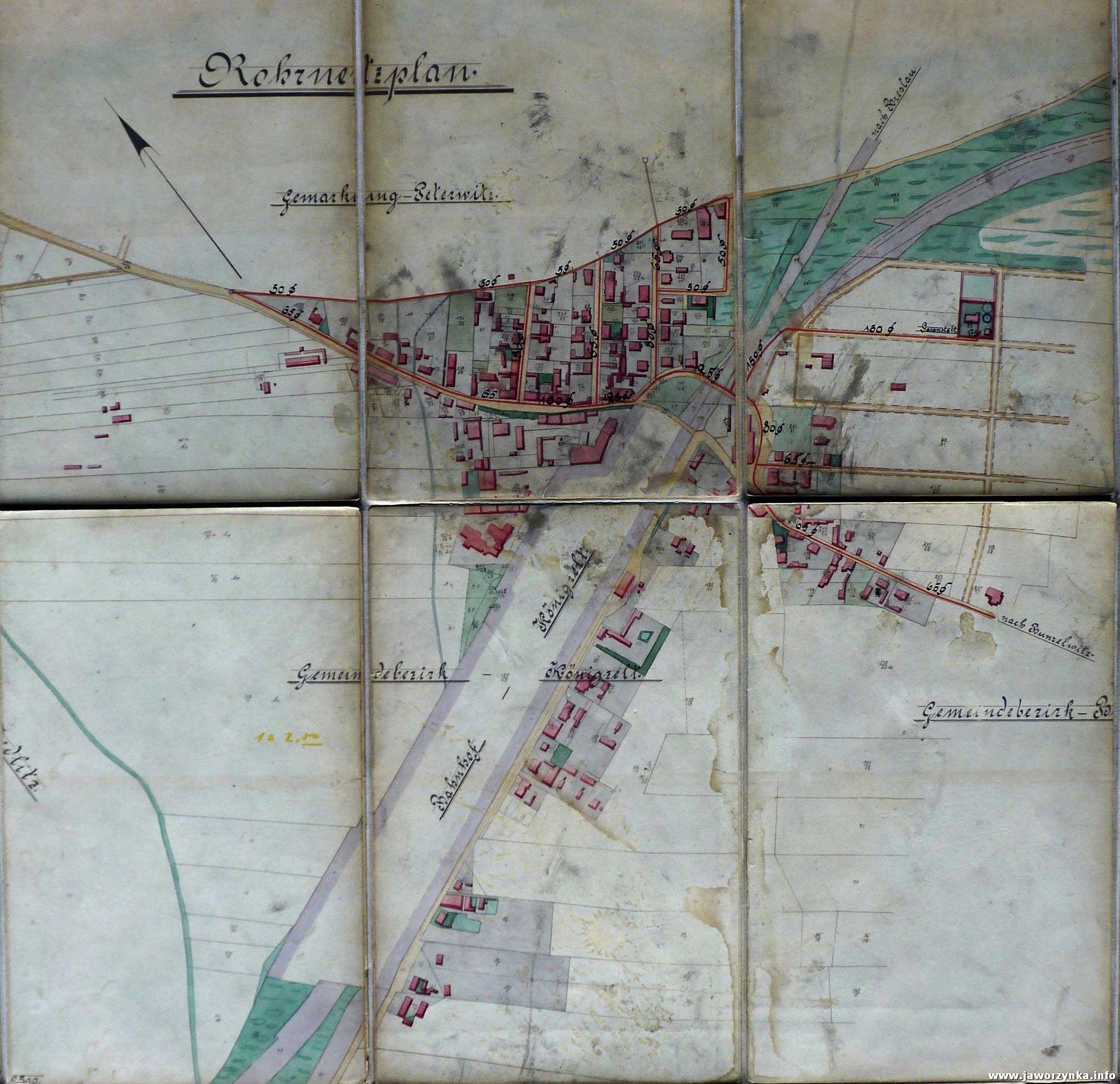 Jaworzyna Śląska 100 lat temu