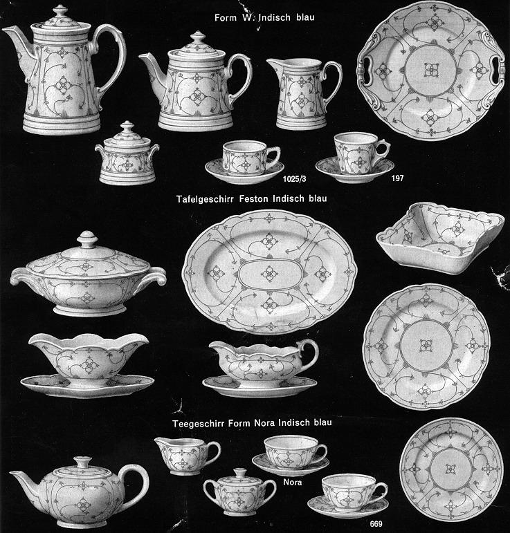 Przedwojenna porcelana